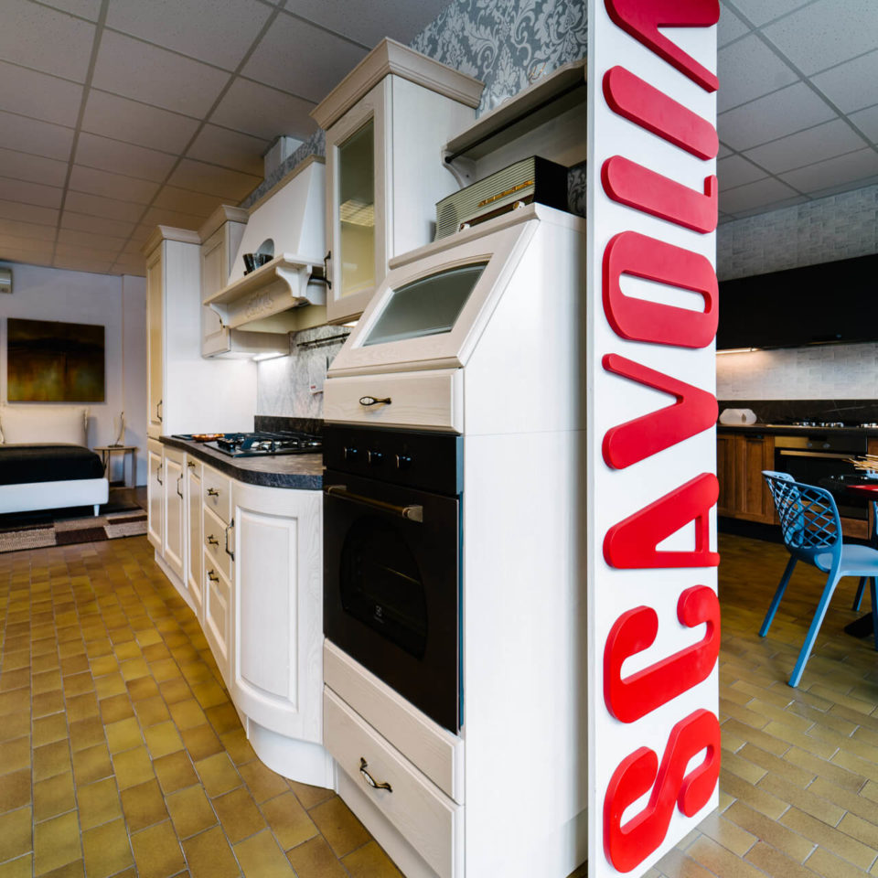 Arredamenti d'interni zona giorno: cucine Scavolini