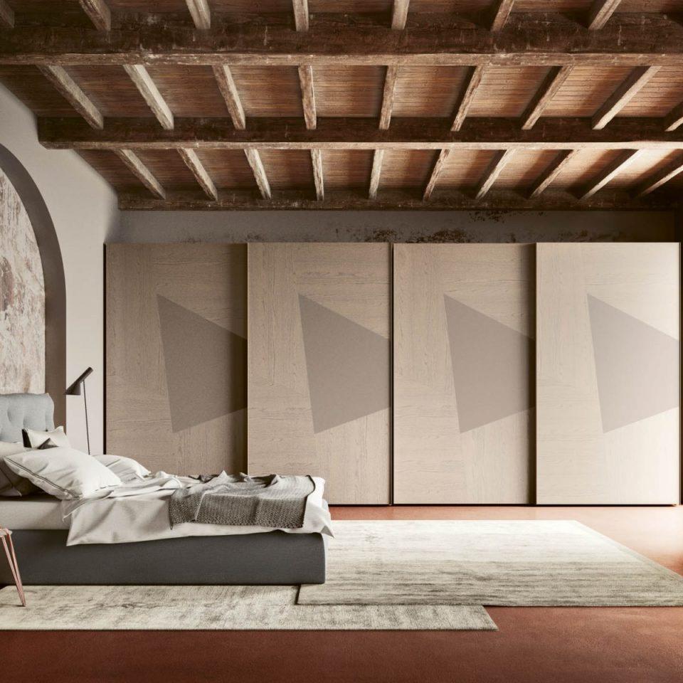 Arredamento d'interni zona notte: San Michele contemporaneo