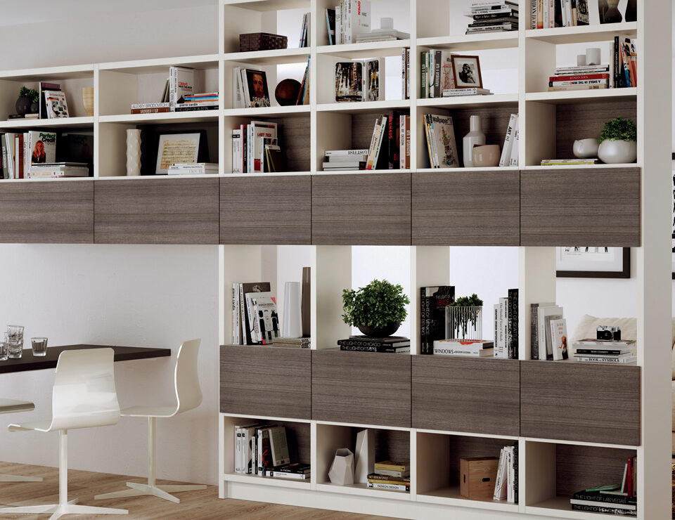 Mobili Lazzeretti, arredamento d'interni zona giorno: soggiorno living Scavolini
